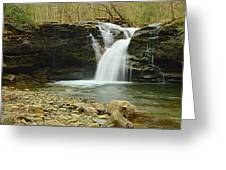 Upper Twin Falls #1 Greeting Card