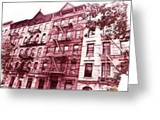 Upper West Side Greeting Card