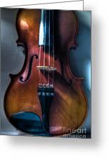 Upright Violin - Cool Greeting Card