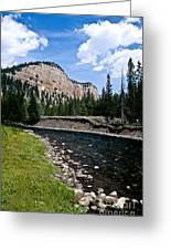 Upriver In Washake Wilderness Greeting Card
