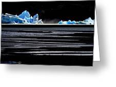 Upsala Glacier Greeting Card by Arie Arik Chen