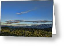 Upslope Flow Greeting Card by Steven Richardson