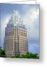 Uptown Charlotte 1 Greeting Card by Randall Weidner