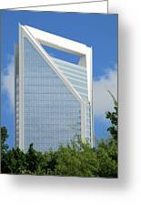 Uptown Charlotte 2 Greeting Card
