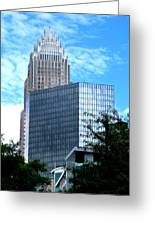 Uptown Charlotte 8 Greeting Card