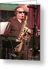 Uptown Horns - Arno Hecht Greeting Card