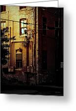 Urban Alley Greeting Card