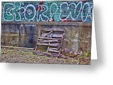Urban Artistry Two Greeting Card
