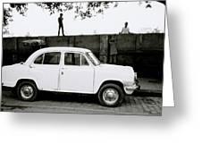 Urban Calcutta Greeting Card