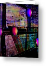 Urban Complexities Greeting Card