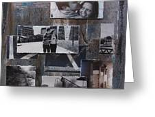 Urban Decay Engagement Collage Greeting Card