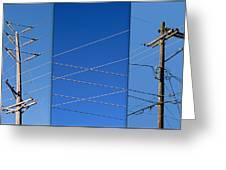 Urban Electric Greeting Card