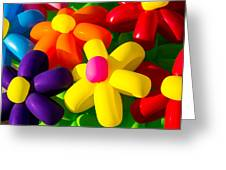 Urban Flowers - Featured 3 Greeting Card by Alexander Senin