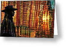 Urban Guru Greeting Card by Skip Hunt