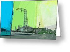Urban Pop Art Greeting Card