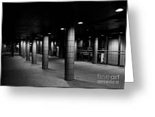 Urban Silence.. Greeting Card