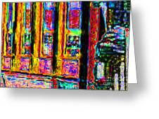 Urban Sprawl - 7d14097 Greeting Card by Wingsdomain Art and Photography