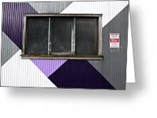 Urban Window- Photography Greeting Card