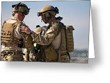 U.s. Air Force Pararescue Jumpers Greeting Card