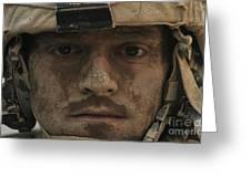 U.s. Army Infantryman Greeting Card