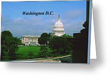 U.s. Capitol Greeting Card