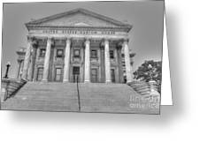 Us Customs House Greeting Card