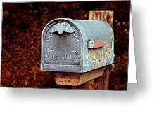 U.s. Mail Approved Greeting Card