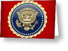 Presidential Service Badge - P S B Greeting Card