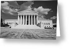 Us Supreme Court Greeting Card