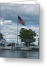 Usa Flag 10 Greeting Card