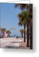 Usa, Florida, New Smyrna Beach, Flagler Greeting Card
