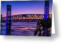 Usa, Jacksonville, Florida Greeting Card