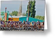 Usa Pro Challenge Bike Race Montrose Colorado Greeting Card