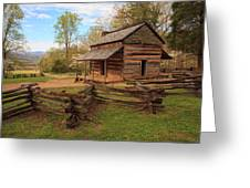 Usa, Tennessee, Great Smoky Mountain Greeting Card