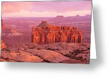 Usa, Utah, Canyonlands National Park Greeting Card