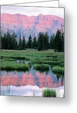 Usa, Utah, High Uintas Wilderness Greeting Card