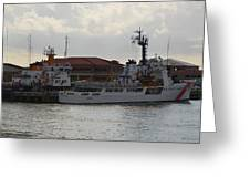Uscg At Rest Greeting Card