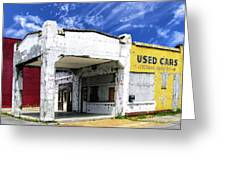 Used Cars Greeting Card