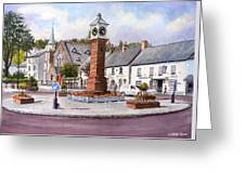 Usk In Bloom Greeting Card