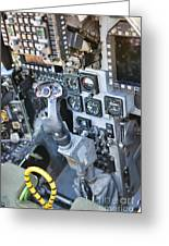 Usmc Av-8b Harrier Cockpit Greeting Card