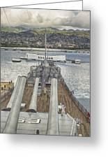 Uss Arizona Memorial-pearl Harbor V4 Greeting Card