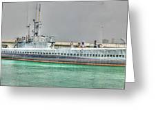 Uss Bowfin Ss-287 2 Greeting Card
