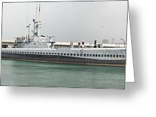 Uss Bowfin Ss-287 Greeting Card