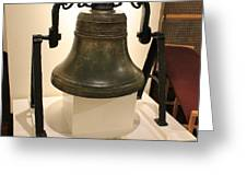 Uss Cairo Bell Greeting Card