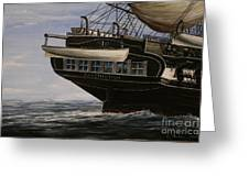 Uss Constitution 1865 Greeting Card
