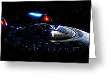 Uss Enterprise Greeting Card