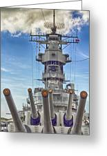 Uss Missouri-pearl Harbor Hawaii Greeting Card