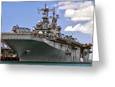 Uss Peleliu Greeting Card