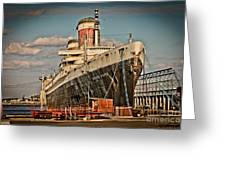 Uss United States Greeting Card