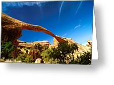 Utah Arches National Park  Greeting Card